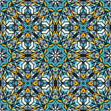 Seamless pattern with abstract decorative mosaic Stock Photo