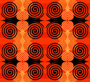 Seamless pattern with abstract design. Stock Photo