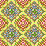 Seamless pattern from abstract elements. In ethnic style Stock Images