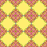 Seamless pattern from abstract elements. In ethnic style Royalty Free Stock Photography