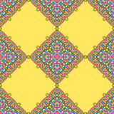 Seamless pattern from abstract elements. In ethnic style Stock Image