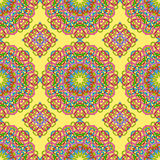 Seamless pattern from abstract elements ethnic style. Seamless pattern from abstract elements in ethnic style Stock Images
