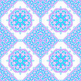 Seamless pattern from abstract elements in ethnic style. Mandalas background Stock Images