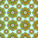 Seamless pattern from abstract elements in ethnic style. Seamless pattern from round abstract elements in ethnic style Stock Images