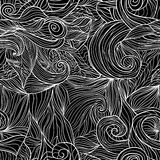 Seamless pattern with abstract feathers Vector Stock Images