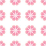 Seamless pattern of abstract flowers. Stock Photography