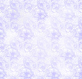 Seamless pattern with abstract flowers. Vector, EPS10 Royalty Free Stock Image