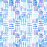 Seamless pattern with abstract geometric figures. vector illustration