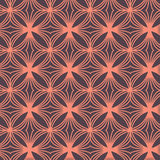 Seamless Pattern Abstract Geometric Ornament In Vintage Eastern Style. Vector Illustration Royalty Free Stock Photos