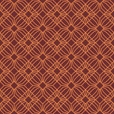 Seamless Pattern Abstract Geometric Ornament In Vintage Eastern Style. Vector Illustration Stock Images