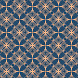Seamless Pattern Abstract Geometric Ornament In Vintage Eastern Style. Vector Illustration Royalty Free Stock Images