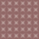 Seamless Pattern Abstract Geometric Ornament In Vintage Eastern Style. Vector Illustration Stock Photo