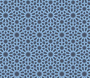 Seamless Pattern Abstract Geometric Ornament In Vintage Eastern Style. Vector Illustration Royalty Free Stock Image