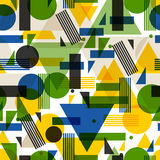 Seamless pattern  in abstract geometric style. Design for wallpaper, background, textile printing Royalty Free Stock Photo