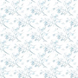 Seamless pattern with abstract leaves. EPS8. Contains no transparency and gradients Stock Image