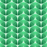 Seamless pattern of abstract leaves. illustration backgro Royalty Free Stock Image
