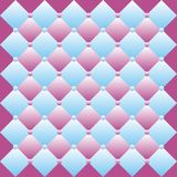 Seamless pattern. Abstract seamless pattern made of blue and violet rhombuses Vector Illustration