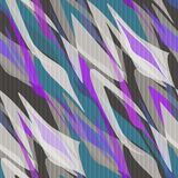 Seamless pattern abstract modern retro background Royalty Free Stock Image