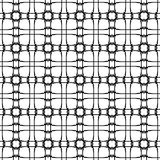 Seamless pattern. Abstract monochrome background. Vector texture Royalty Free Stock Photo