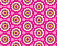 Seamless pattern with abstract multicolor ornament Royalty Free Stock Photo