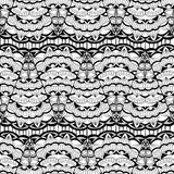 Seamless pattern - abstract ornamental lace background Royalty Free Stock Photo