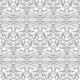 Seamless pattern - abstract ornamental triangles Stock Photography