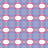 Seamless pattern with abstract ornaments. Stock Images
