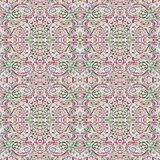 Seamless pattern. Abstract painting. Canvas. Psychedelic ornate pattern. Oriental ornamental. Royalty Free Stock Photography