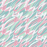 Seamless pattern abstract painting pastel colors background Royalty Free Stock Photos