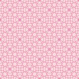 Seamless pattern of abstract pink circles on a light pink background for fabric, wallpaper, tablecloths, prints and designs. vector illustration
