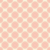 Seamless pattern with abstract pink flowers on Stock Photos