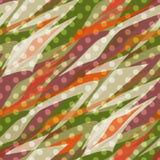 Seamless pattern abstract polka dot retro background Stock Image
