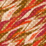Seamless pattern abstract polka dot retro background Stock Images
