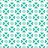 Seamless pattern of abstract polygonal elements. Stock Photo