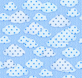 Seamless  pattern abstract sky. Royalty Free Stock Photos