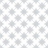Seamless pattern with abstract  snowflakes  Light Christmas background. Vector illustration The theme of winter, new year, holiday for printing on fabrics Royalty Free Stock Photo