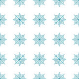 Seamless pattern with abstract  snowflakes  Light Christmas background. Vector illustration The theme of winter, new year, holiday for printing on fabrics Royalty Free Stock Photography