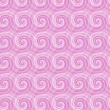 Seamless pattern with abstract spirals Royalty Free Stock Images