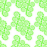 Seamless pattern with abstract stars. Vector Stock Photography