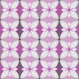 Seamless pattern abstract stylish background with stylized petal Royalty Free Stock Images