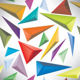 Seamless pattern abstract triangles Royalty Free Stock Photography