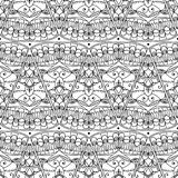 Seamless pattern - abstract triangles background Stock Image