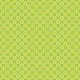 Seamless pattern of abstract yellow-green circles.The EPS file vector stock illustration