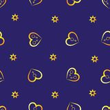 Seamless pattern. Abstraction royalty free illustration