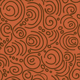 Seamless pattern in African style Royalty Free Stock Photo