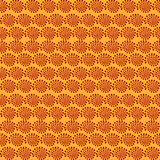 Seamless pattern in African style Stock Image