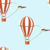 Seamless   pattern air  ballon Stock Image