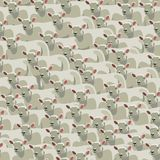 Seamless pattern all sheep, bedtime counting sheep Stock Photo