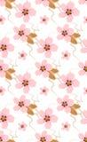 Seamless pattern of almonds Stock Photography