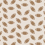 Seamless pattern american football Royalty Free Stock Photo